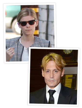 Kate Mara - Johnny Depp - Blonde Hair
