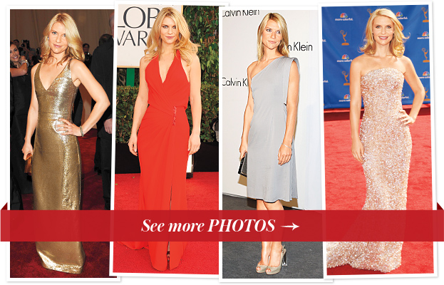 Claire Danes best dresses gowns red carpet style