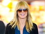 Heidi Klum Hair - Bangs