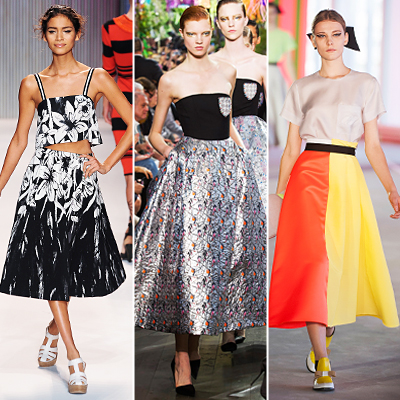 Look of the Day photo | Full Skirts