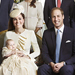 Photo of the Day: The Royal Family Beams with Pride In the Official Picture of Prince George's Christening