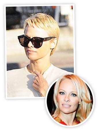Pamela Anderson - Pixie Cut