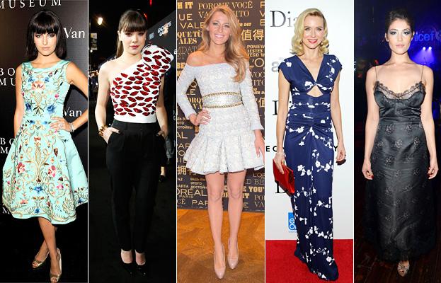 Camilla Bell, Hailee Steinfeld, Blake Lively, Naomi Watts and Gemma Arterton