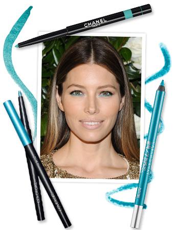 Jessica Biel Eyeliner
