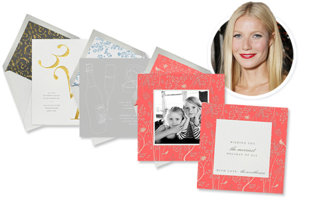 Goop and Paperless Post and Gwyneth Paltrow