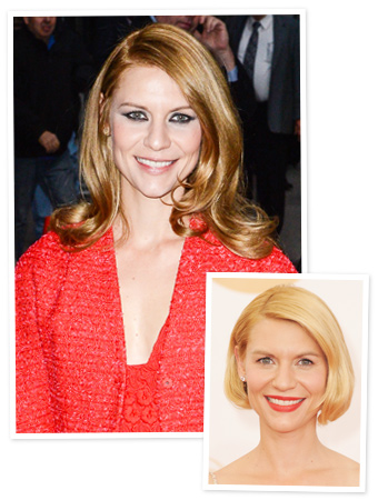 Claire Danes - Red Hair - 2013