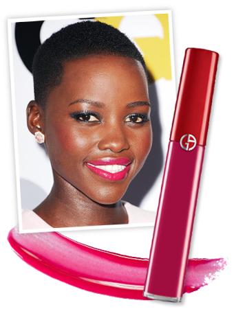 Lupita Nyong'O - Hot Pink Lipstick