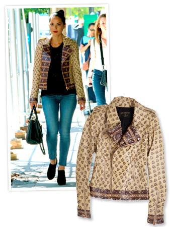 Olivia Munn Moto Jacket