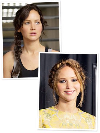 All the girly things: Katniss Braid and Makeup from The ...