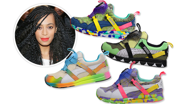 Solange Knowles and Puma