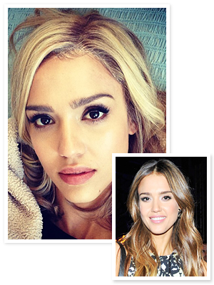 Jessica Alba Blonde Hair 2013