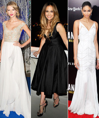 Miley Cyrus, Emmy Rossum, Taylor Swift, Jennifer Lopez and Chanel Iman