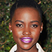 Holiday Beauty Inspiration: Lupita Nyong'o's Bold Violet Lip