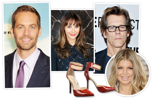 Paul Walker, Rashida Jones, Kevin Bacon and Fergie