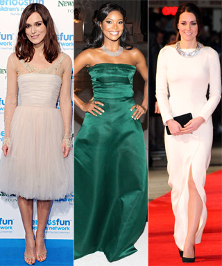 Marion Cotillard, Allison Williams, Keira Knightley, Gabrielle Union and Kate Middleton