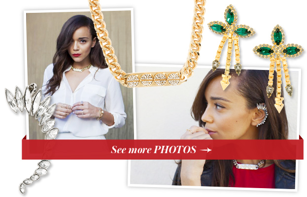 Ashley Madekwe x BaubleBar