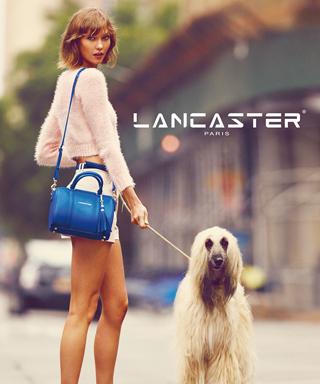 Karlie Kloss for Lancaster Paris
