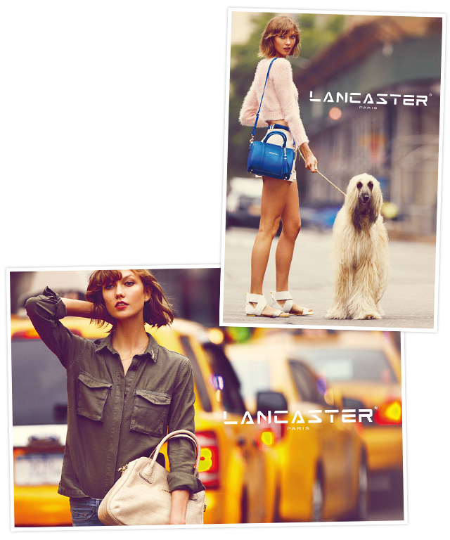 Karlie Kloss for Lancaster Paris