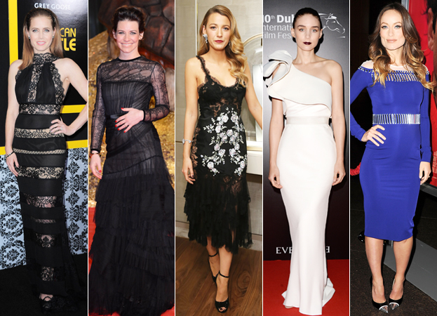 Amy Adams, Evangeline Lilly, Blake Lively, Rooney Mara, and Olivia Wilde