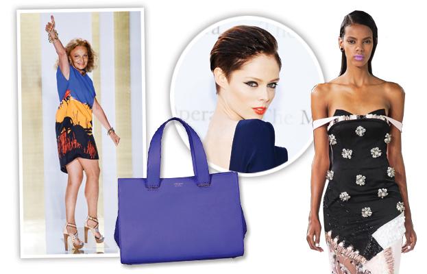 Diane von Furstenberg, Coco Rocha, Dior