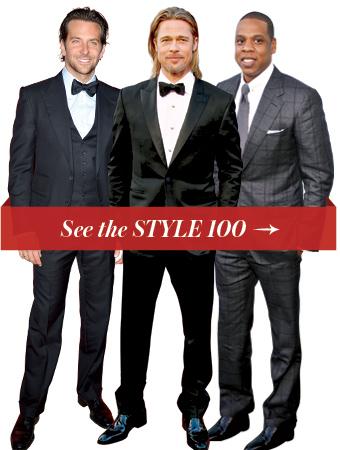 Bradley Cooper, Brad Pitt & Jay Z
