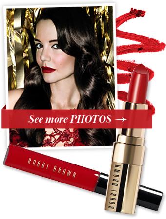 Katie Holmes - Red Lip