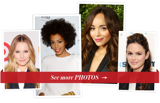 Ashley Madekwe, Rachel Bilson, Solange and Kristen Bell