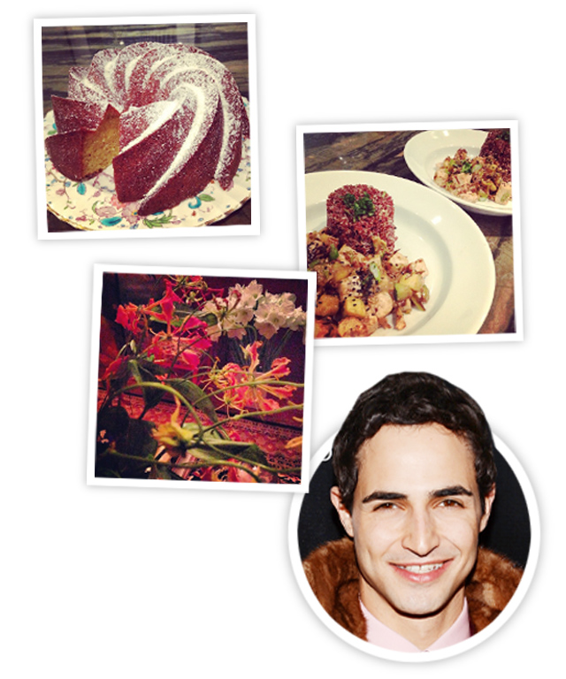 Zac Posen Holiday Entertaining