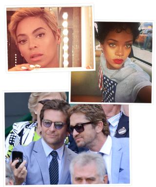 Bradley Cooper, Gerard Butler, Beyonce, and Rihanna