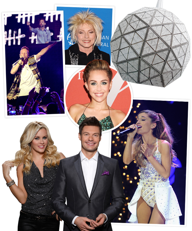Macklemore & Ryan Lewis, Miley Cyrus, Ariana Grande, Blondie, Ryan Seacrest, Jenny McCarthy
