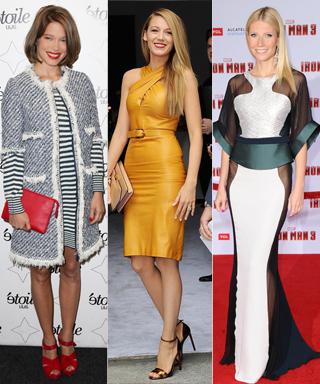 Lea Seydoux, Olivia Wilde, Jessica Biel, Blake Lively, and Gwyneth Paltrow