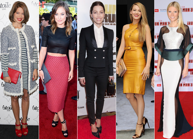 Lea Seydoux, Olivia Wilde, Jessica Biel, Blake Lively, and Gwyneth Paltrow