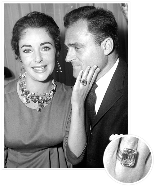 Biggest Celebrity Engagement Rings - Michael Todd and Elizabeth Taylor
