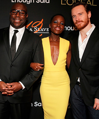 Chiwetel Ejiofor, Alfre Woodard, Steve McQueen, Lupita Nyong'o and Michael Fassbender