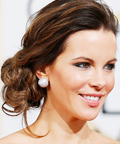 Kate Beckinsale - Tousled Side Bun - Celebrity Beauty Tip