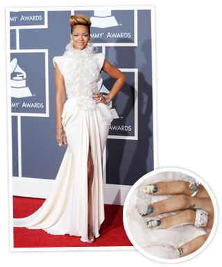 Grammy Manicures
