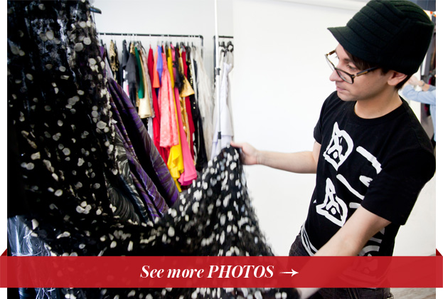 Christian Siriano FW 2014 Showroom Tour