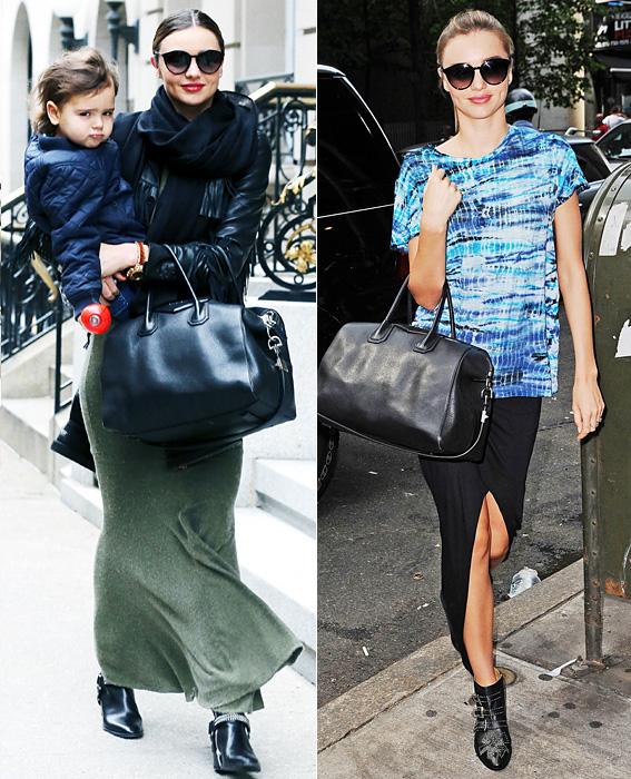 Maxi Skirt: Miranda Kerr