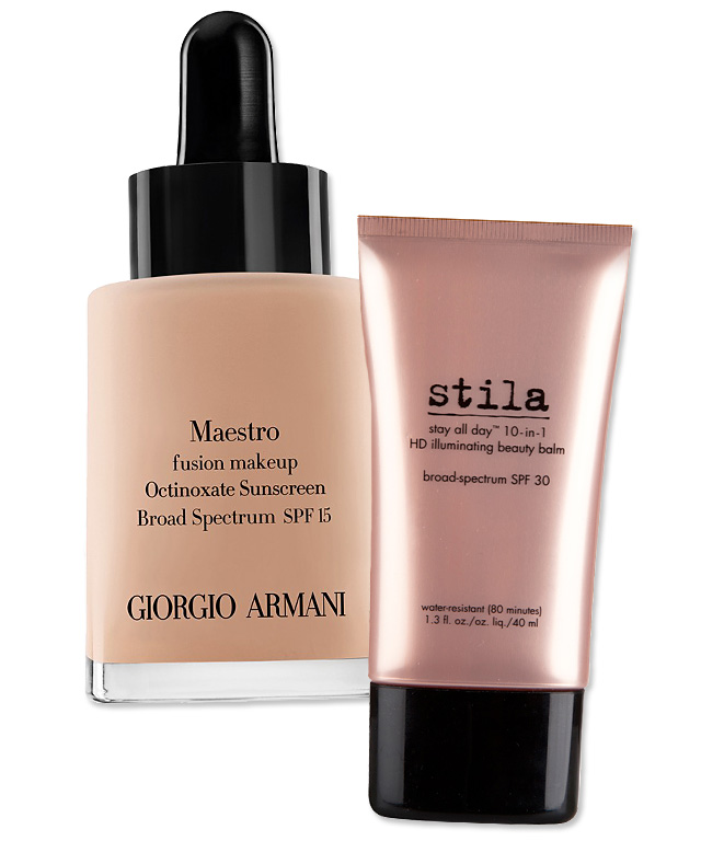 Flawless Finish - Armani Foundation - Stila BB Cream