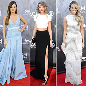 Who Do You Think Was Best Dressed On The ACM Awards Red