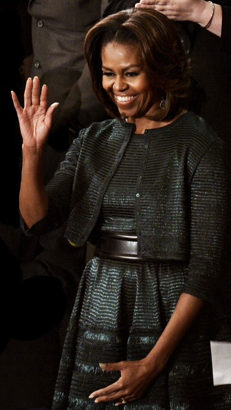 Alaia Designer Wiki >> michelle obama state of the union 2014 2014 azzedine alaia michelle obama s best looks ever
