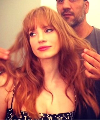 Jessica Chastain haircut
