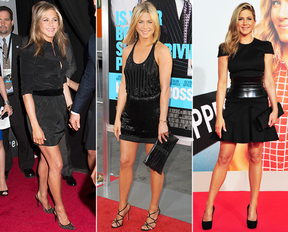 Jennifer Aniston in Little Black Dresses
