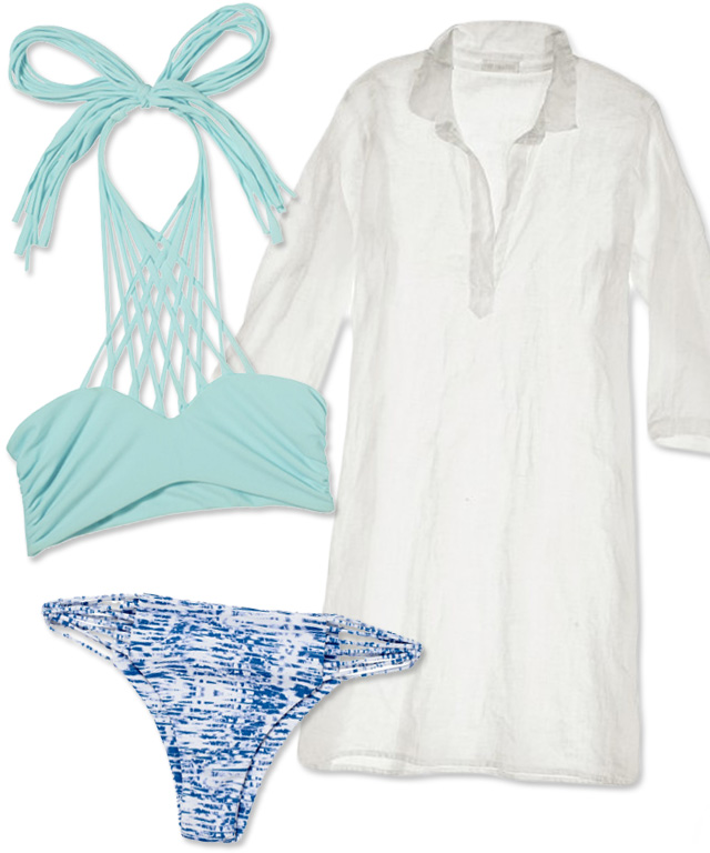 Swim + Cover-Up Pairings