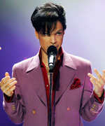 Prince Wearing Purple