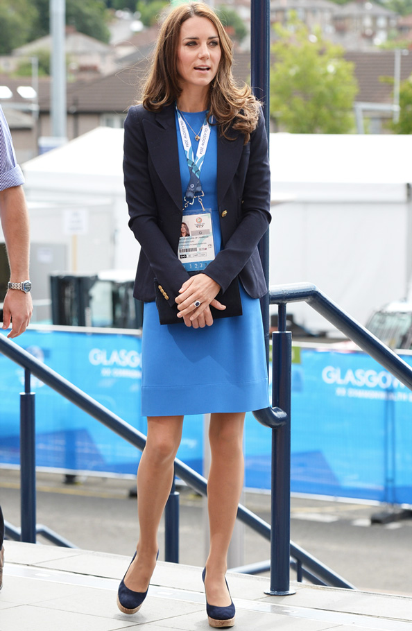 Kate Middleton at Commonwealth Games