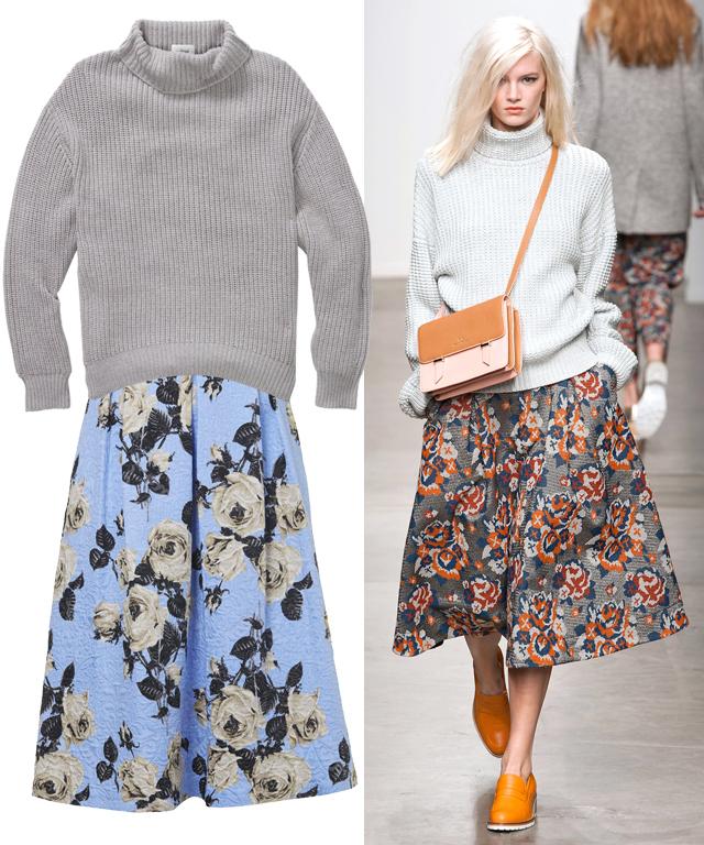 Sweater-Skirt Combos