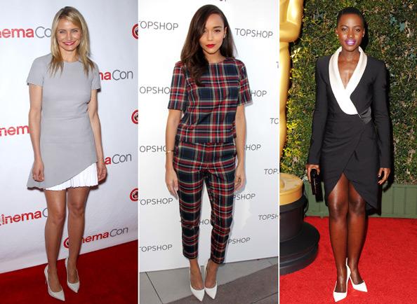 Cameron Diaz, Ashley Madekwe, Lupita Nyong'o in White Shoes