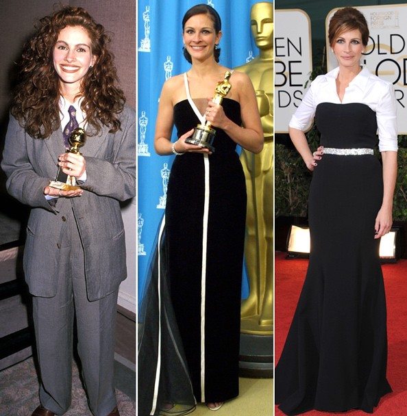 Julia Roberts Best Red Carpet Looks
