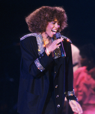 Whitney Houston at the 1986 MTV Video Music Awards